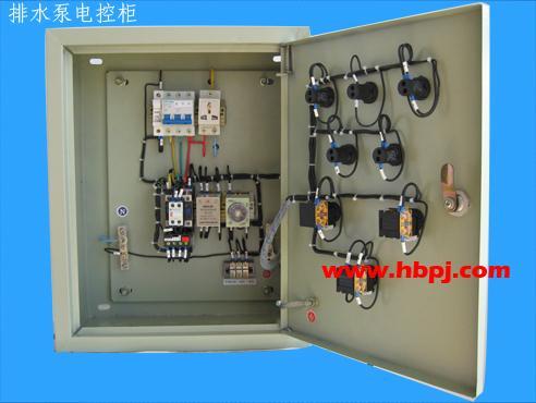 类型 室外防雨型 名称 排水泵电控柜 用途: 用于集水坑排水,为现场